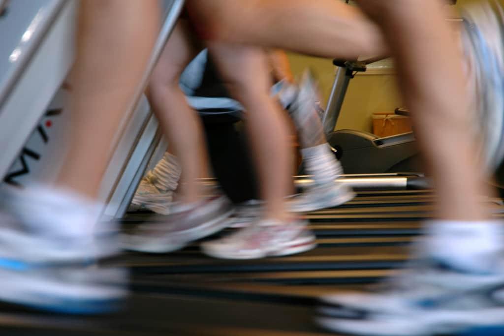 Running-on-treadmills