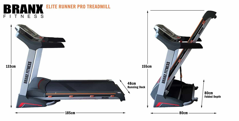 Branx Fitness Elite Runner Pro Treadmill Review (2019 Best)