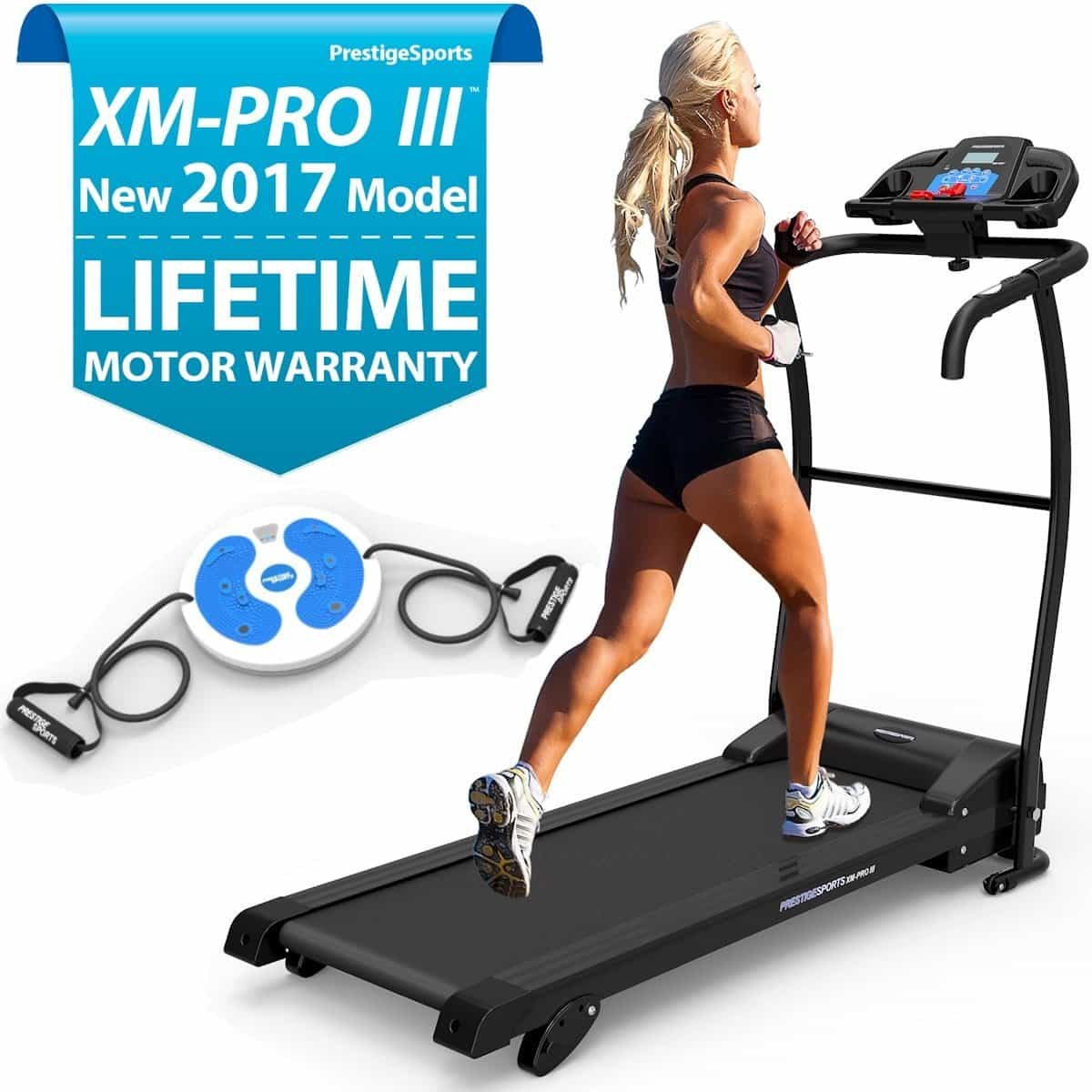 Prestige sports xm pro iii treadmill review 2017 model treadmill reviews uk - Best treadmills for small spaces collection ...